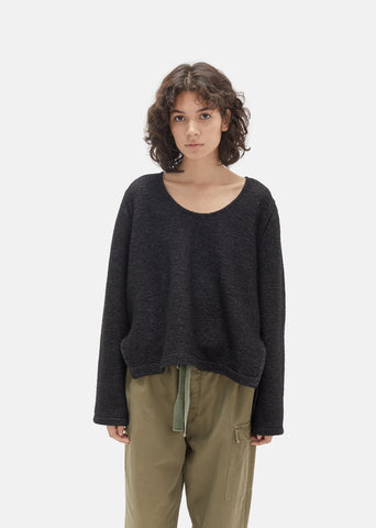 Wool Flared Sweater