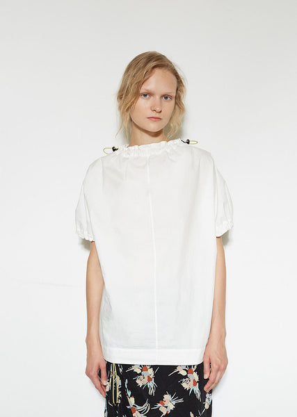 Marni Drawstring Gathered Blouse La Garconne