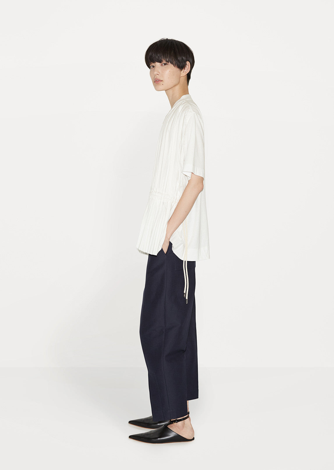 Ankle Slit Trousers