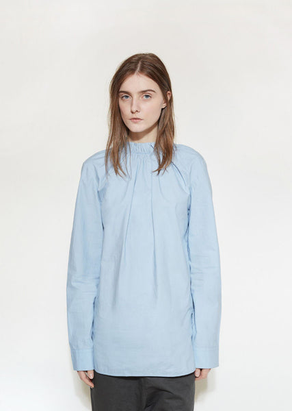 Marni Gathered Poplin Blouse La Garconne