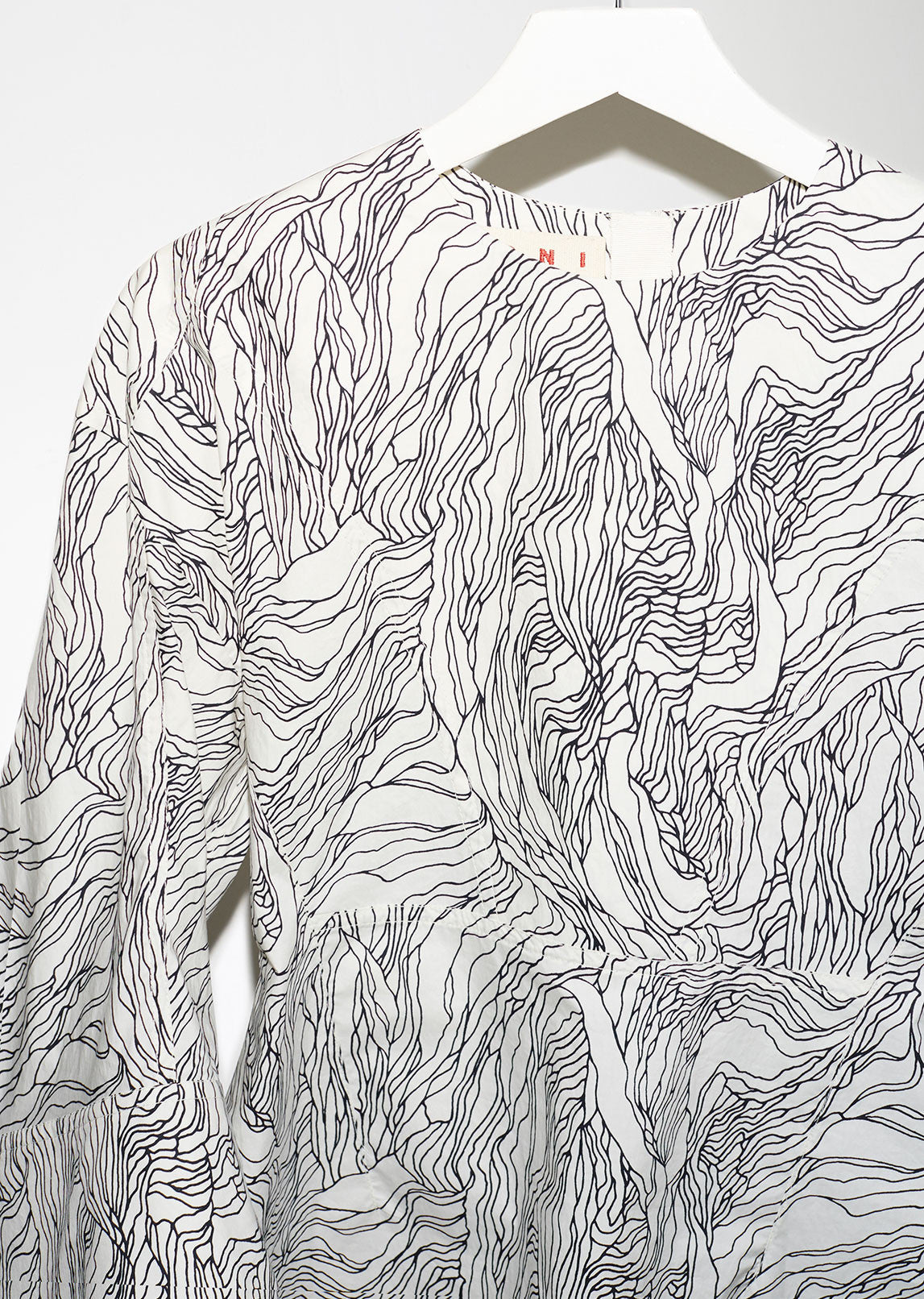 Printed Abstract Blouse