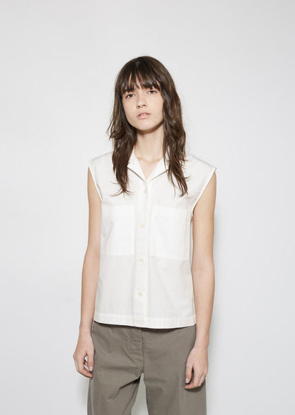 MHL by Margaret Howell Sleeveless Work Shirt La Garconne