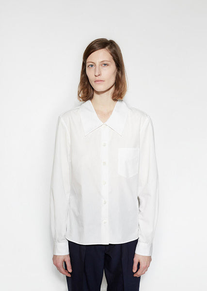 Margaret Howell Low Collar Shirt La Garconne