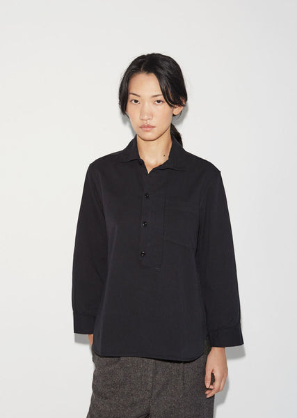 MHL by Margaret Howell Square Placket Shirt La Garconne