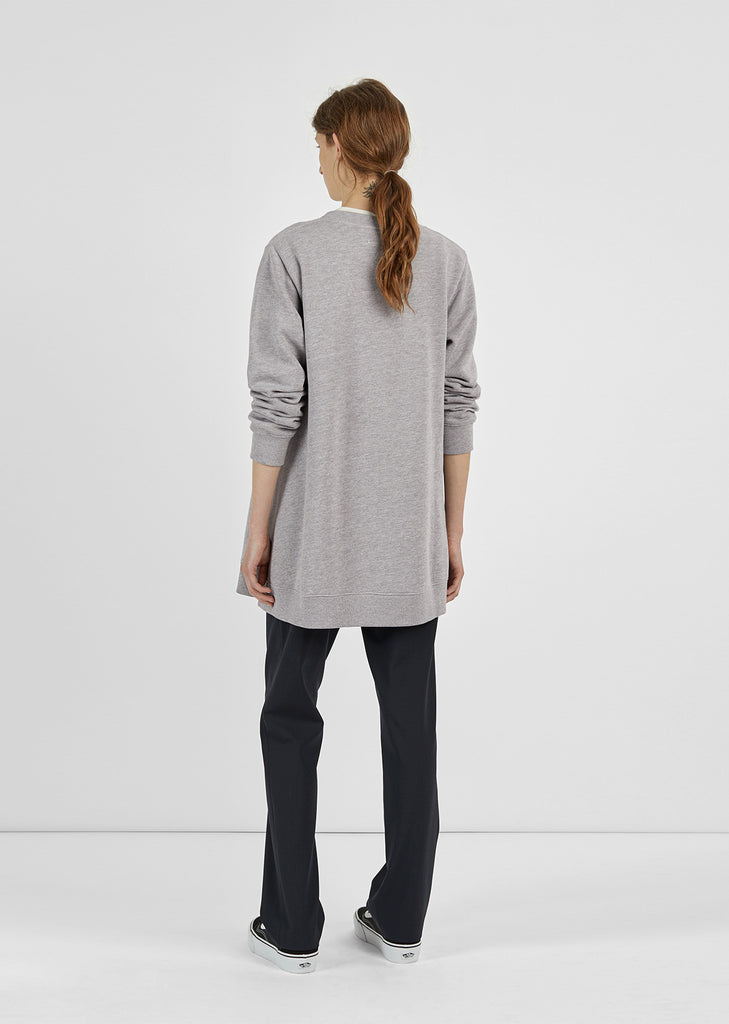 Brushed Sweatshirt Tunic