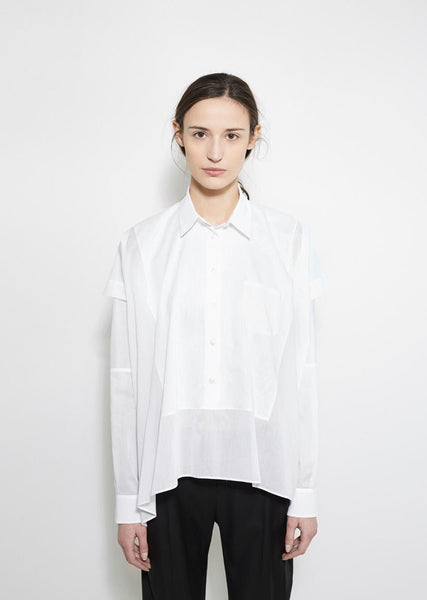Maison Margiela Cotton Patchwork Shirt La Garconne