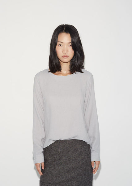 Moderne Simple Blouse La Garconne