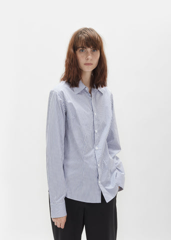 Darted Stripe Shirt