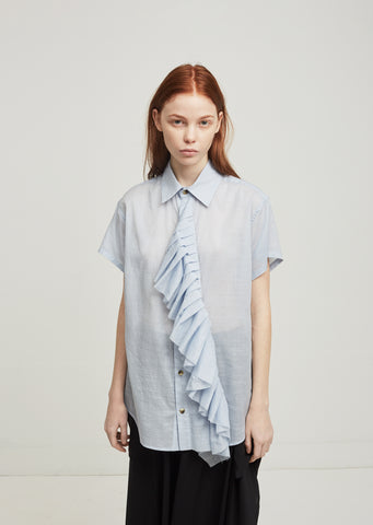 Frill Short Sleeve Shirt