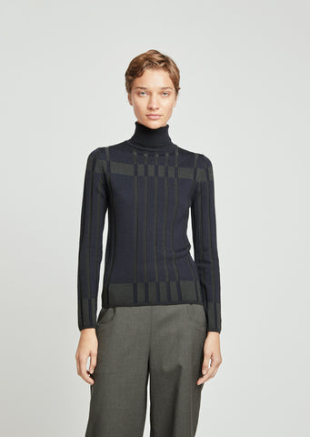 Superfine Merino Turtleneck
