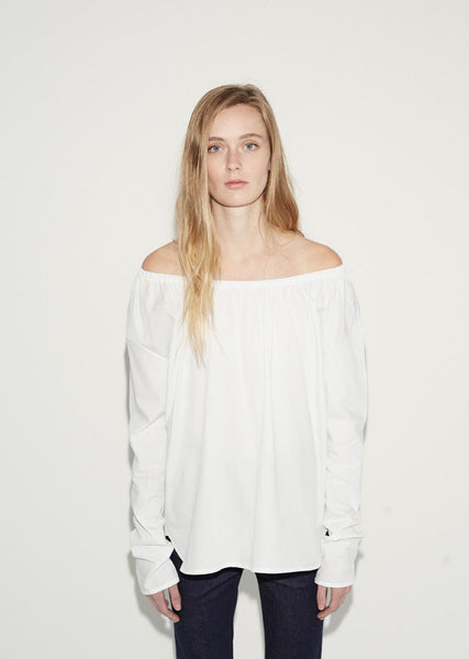 Organic by John Patrick Off-the-Shoulder Shirt La Garconne