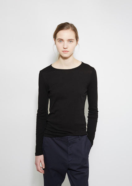 Organic by John Patrick Long Sleeve Shirttail Tee La Garconne