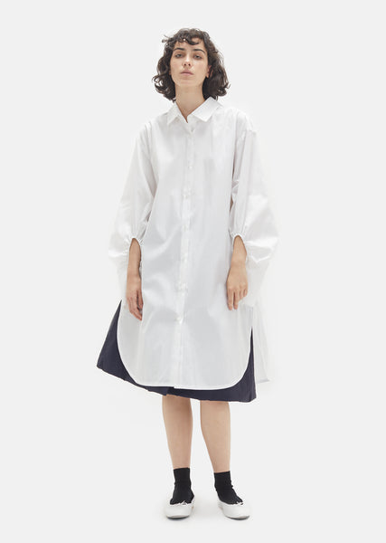 Polar White Poplin Shirt