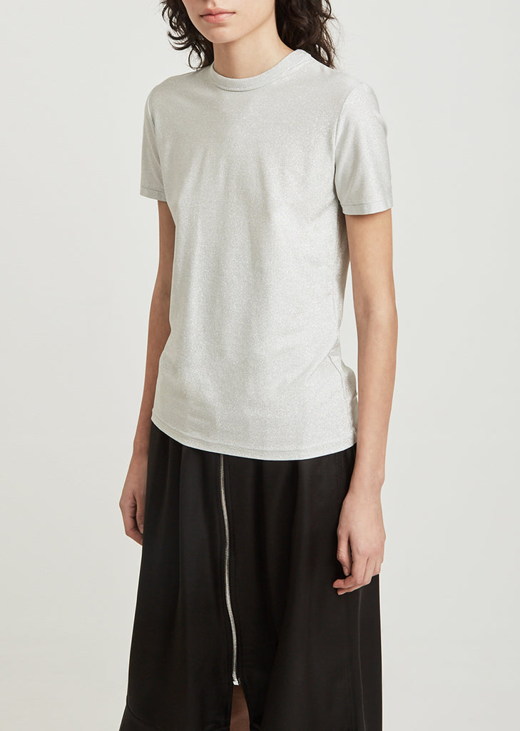 Metallic Short Sleeve Tee