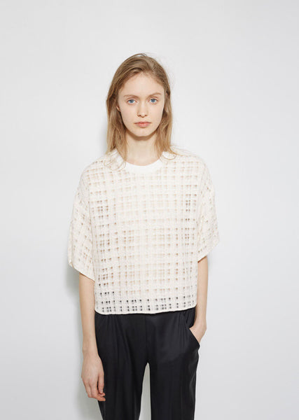 3.1 Phillip Lim Boxy Tweed Top La Garconne