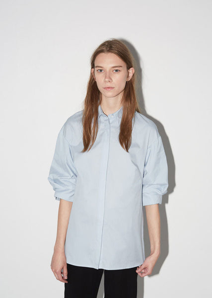 3.1 Phillip Lim Pushed-Up Sleeve Shirt La Garconne