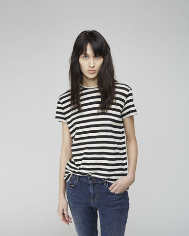 Striped Tissue Tee