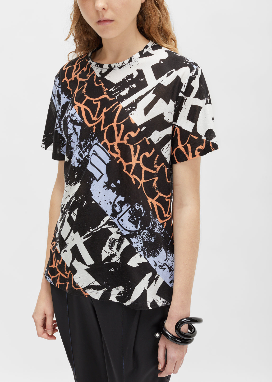 Printed Ultrafine Jersey Tee