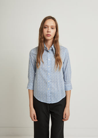 Exaggerated Collar Shirt