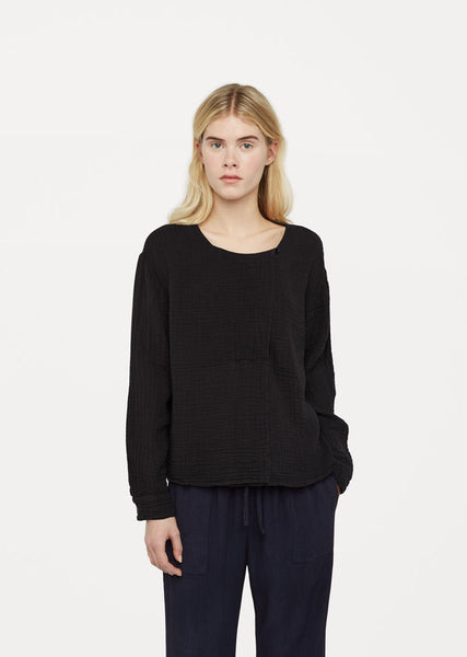 Raquel Allegra Cotton Gauze Day Blouse La Garconne
