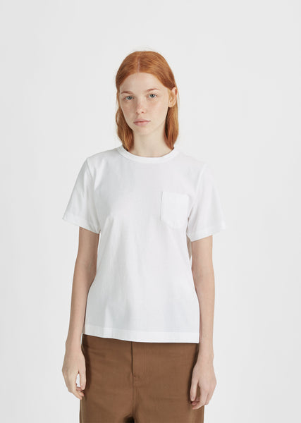 Pleated Back Tee