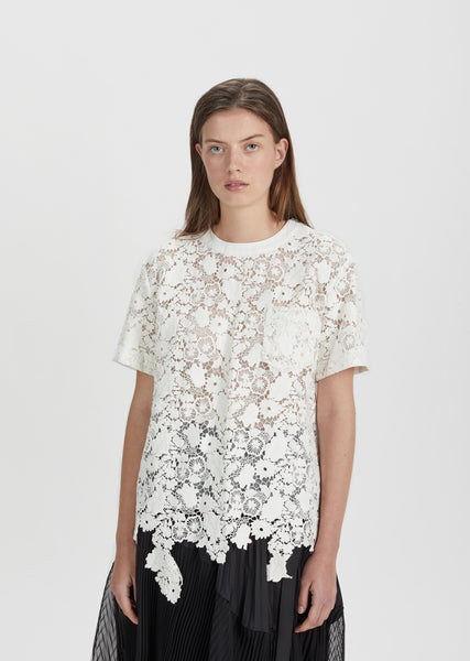 Flower Chemical Lace Shirt