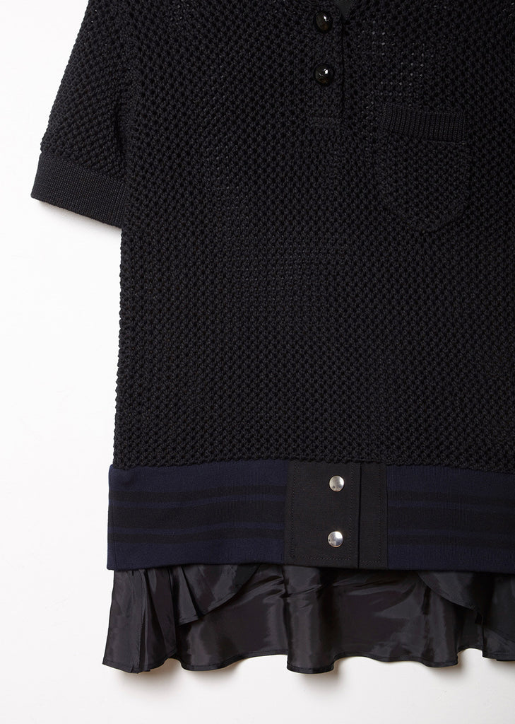 Knit Polo Sweater