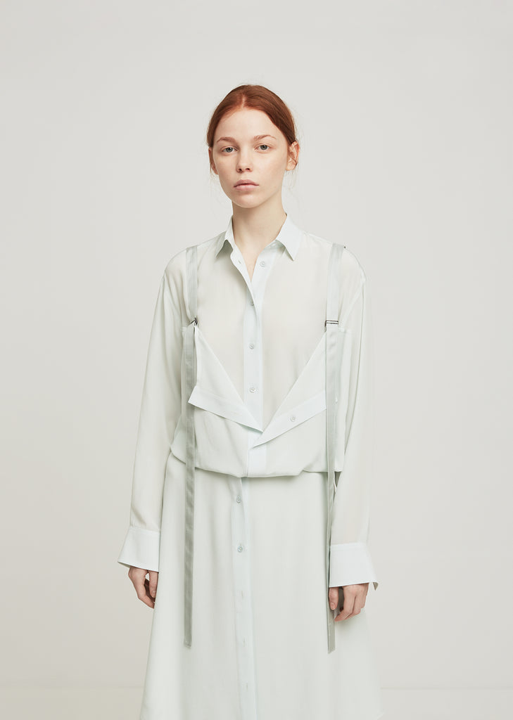Loretta Button Front Harness Shirt