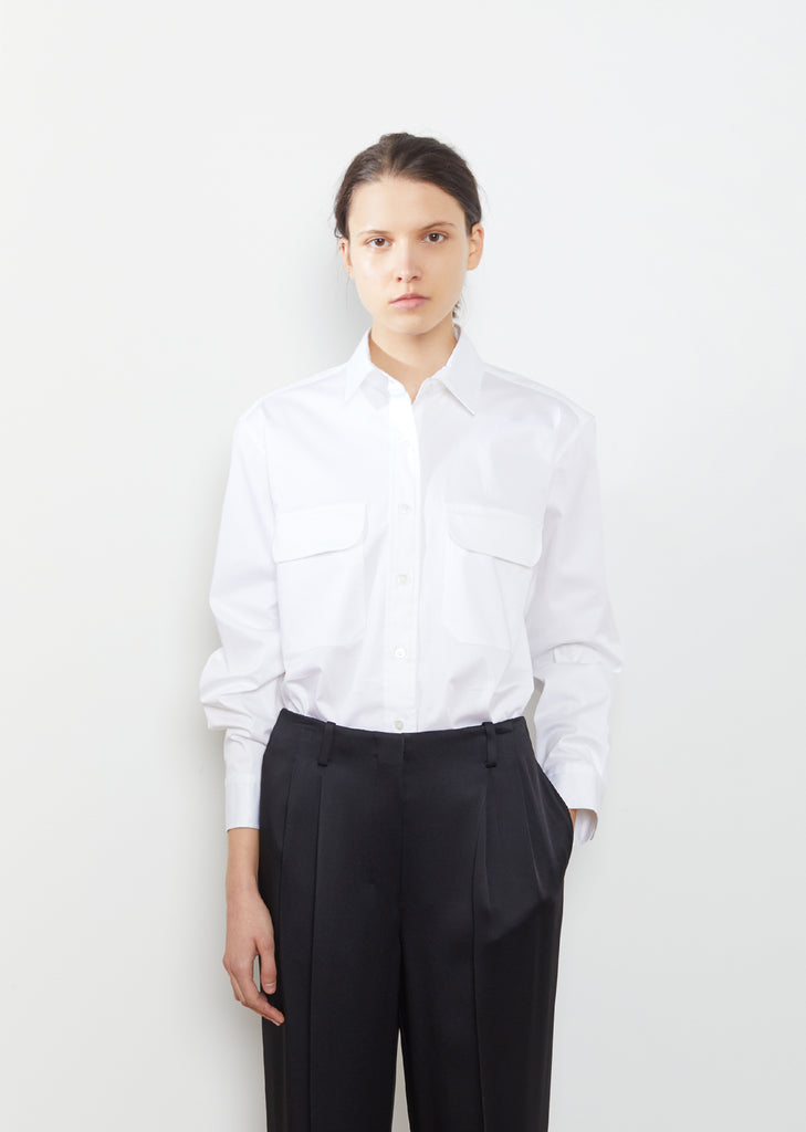 Pilson Stretch Cotton Poplin Shirt