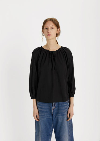 Drawstring Peasant Top