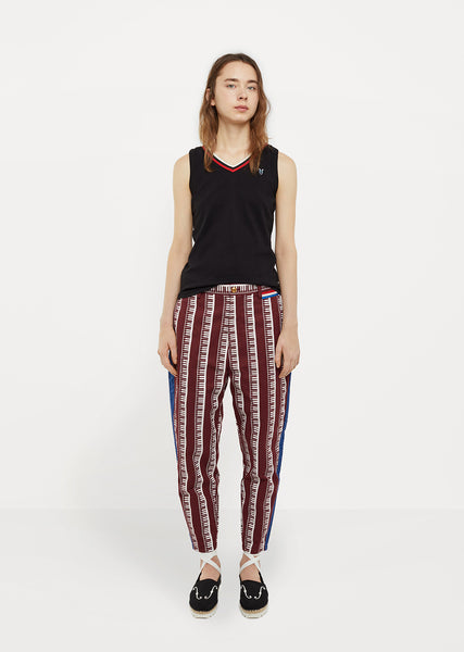 Printed Stripe Pant
