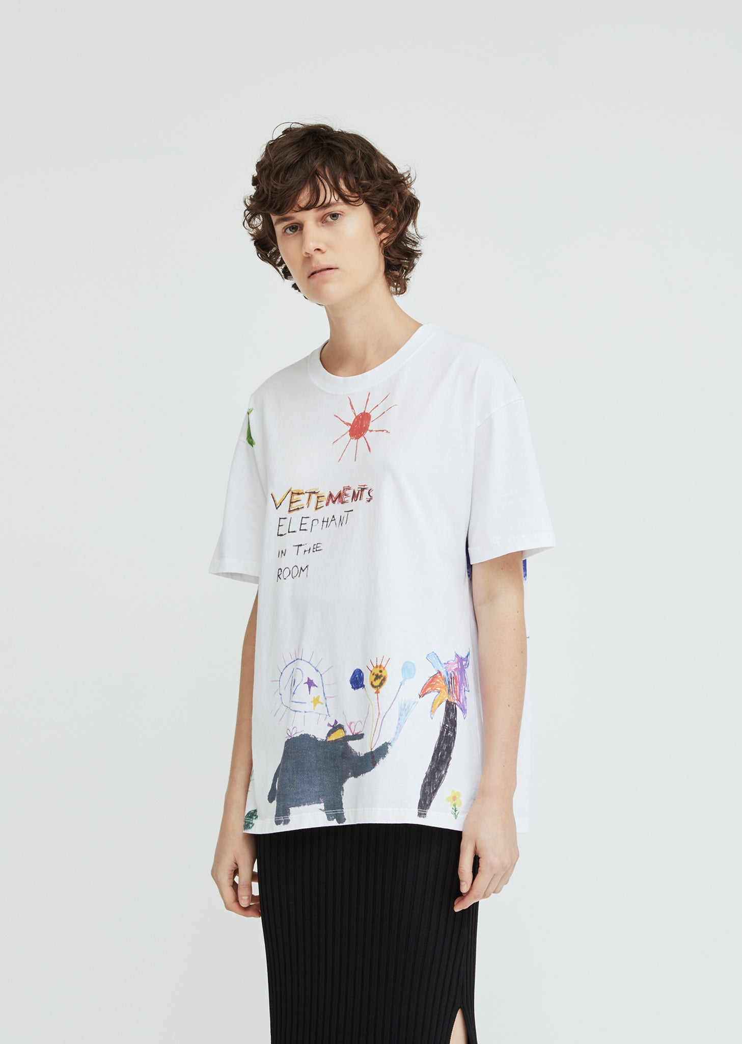 20fc18f9 Elephant Red Sun T-Shirt by Vetements- La Garçonne