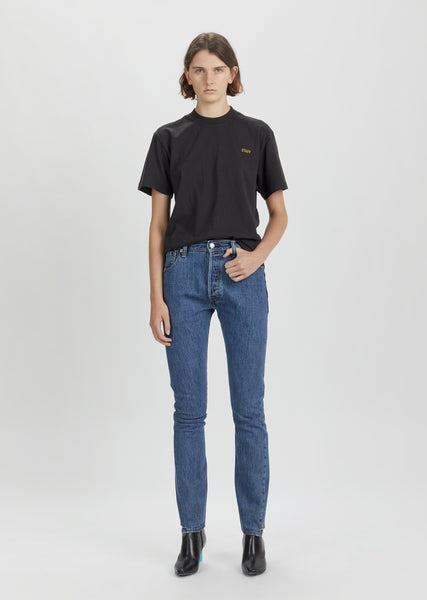 X Levi's High Waist Reworked Denim