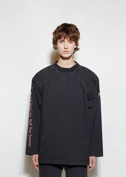 Vetements Football Shoulder T-Shirt La Garconne