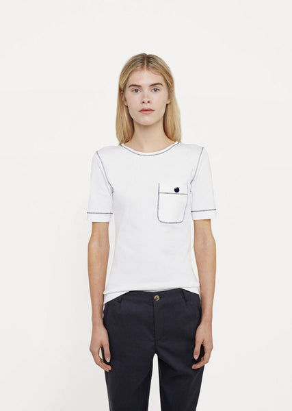 Button Pocket T-Shirt