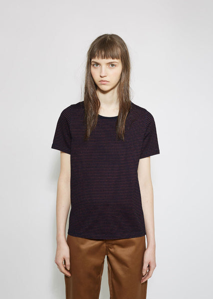VISVIM Border Striped Tee La Garconne