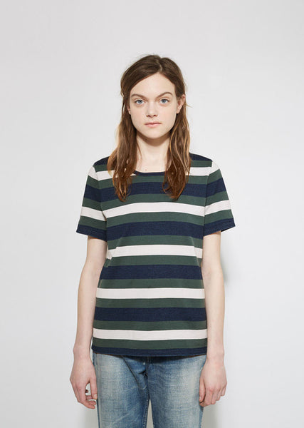 VISVIM Wide Border Basic Tee La Garconne