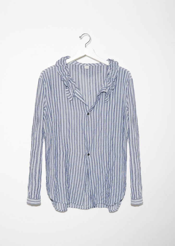 Gathered Collar Shirt