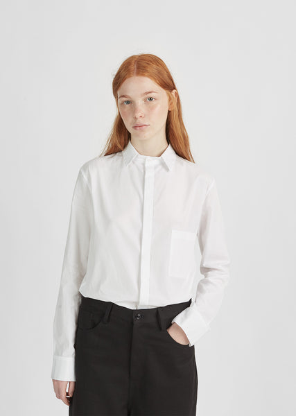 Cotton Pocket Shirt