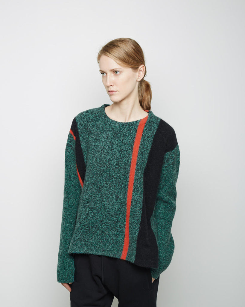 Boiled Lambswool Pullover