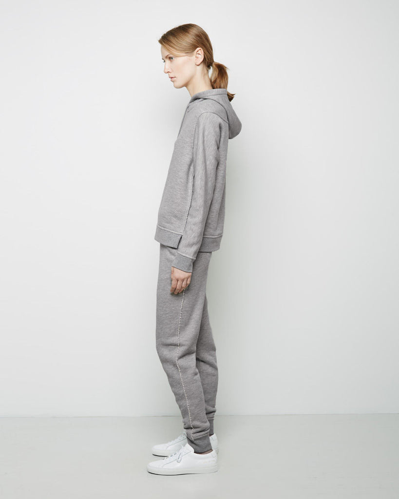 Cotton Twill French Terry Sweatpants