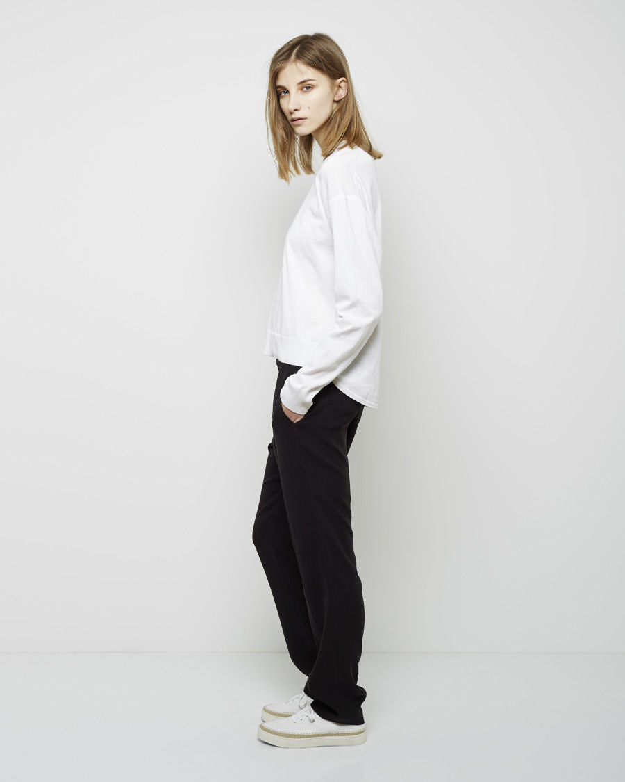 Draped Suiting Trouser