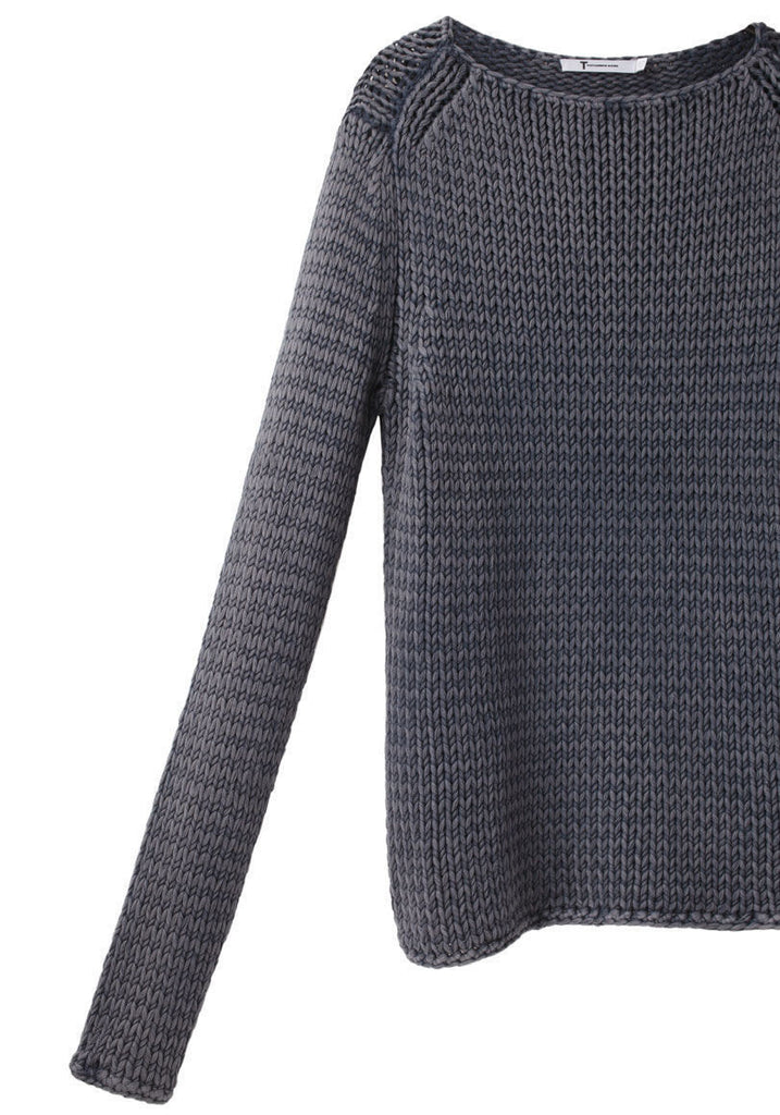 Heavy Boatneck Pullover