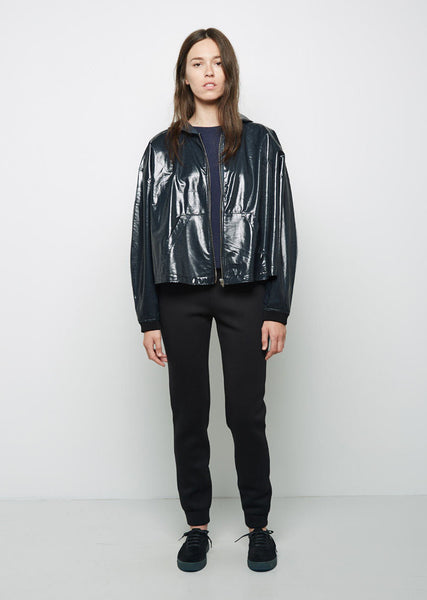 T by Alexander Wang Laminated French Terry Windbreaker La Garconne
