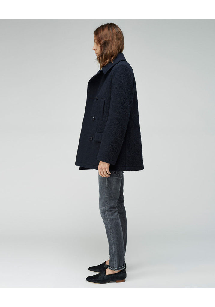 Pilly Wool Peacoat