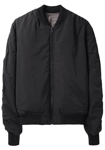 Reversible Nylon Bomber