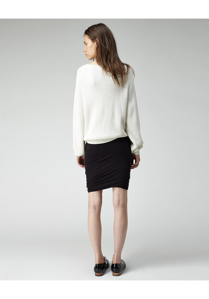 Ribbed Cotton Pullover