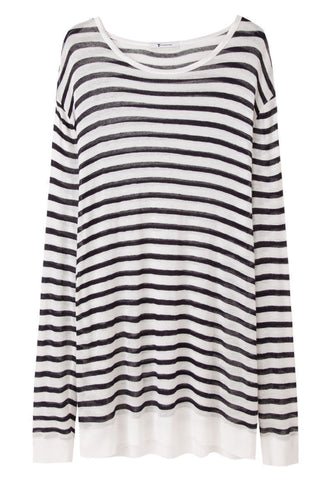 Striped Linen Longsleeve
