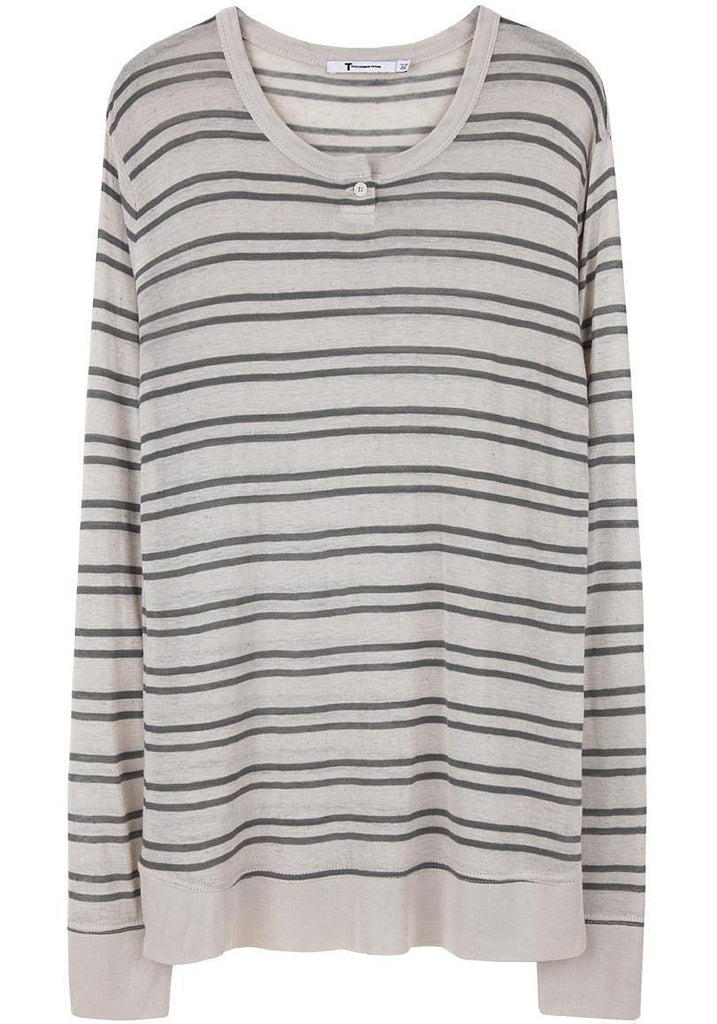 Striped Long Sleeved Tee