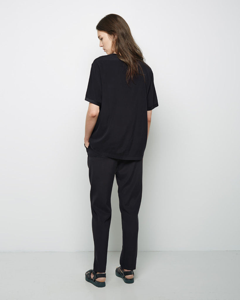 Washed Silk Track Pant